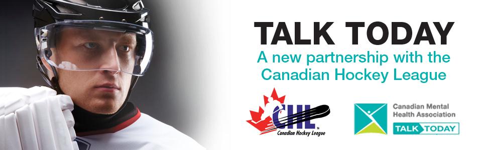 CMHA partners with Canadian Hockey League to launch Talk Today