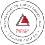 Accredited since 2015 - Imagine Canada