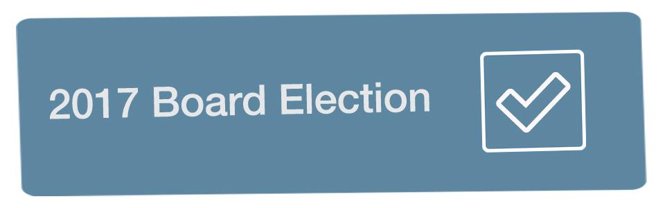2017 Board Election