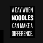 September 20 is Charity Day at Noodlebox