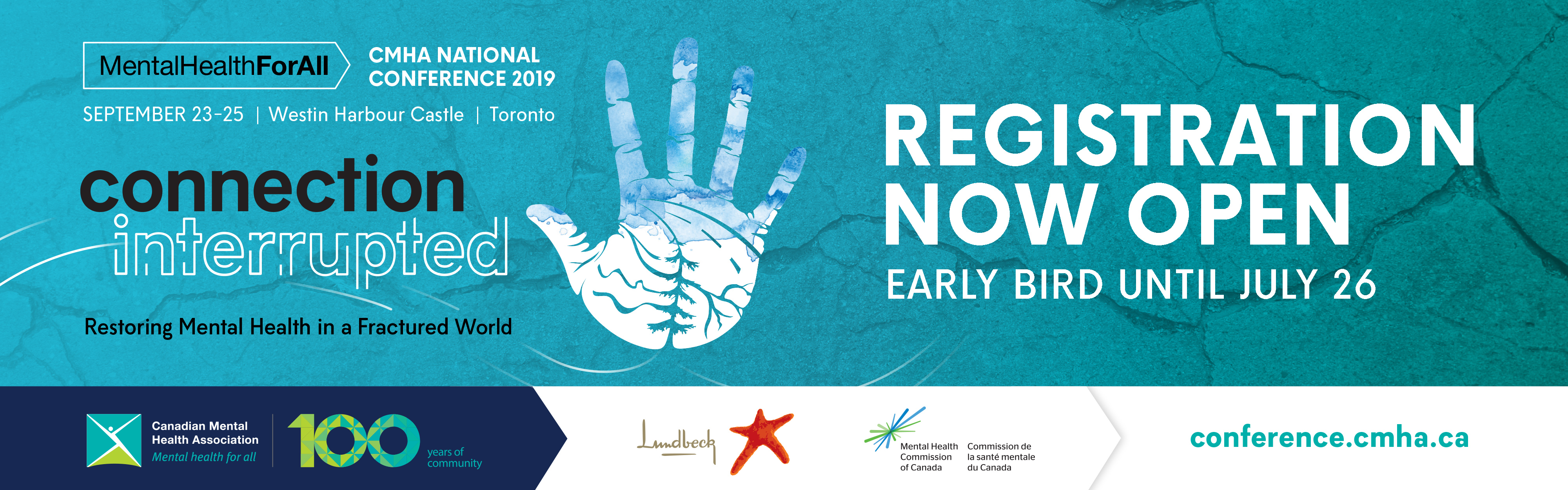 Mental Health for All Conference - early bird until July 26