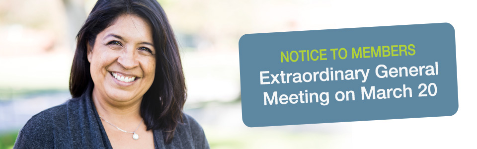 Extraordinary General Meeting - March 20, 2020