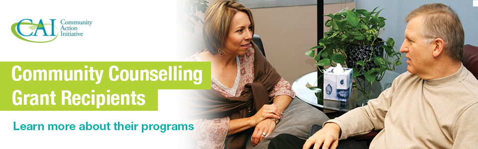 CAI Community Counselling Grant Recipients